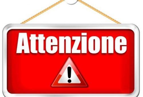 ATTENZIONE: MODULO SERVIZIO SORVEGLIANZA MENSA LUGAGNANO