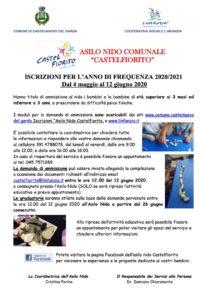 Volantino - Asilo Nido Castelfiorito