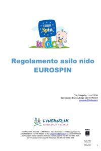 Regolamento - Asilo Nido Eurospin