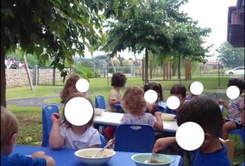 Pranzare all'aperto sotto l'ombra di un albero,  ascoltare i suoni della natura,…